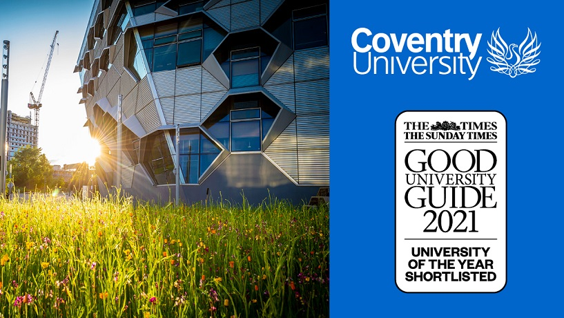 Short list for UK university of the Year in latest Times Good University Guide