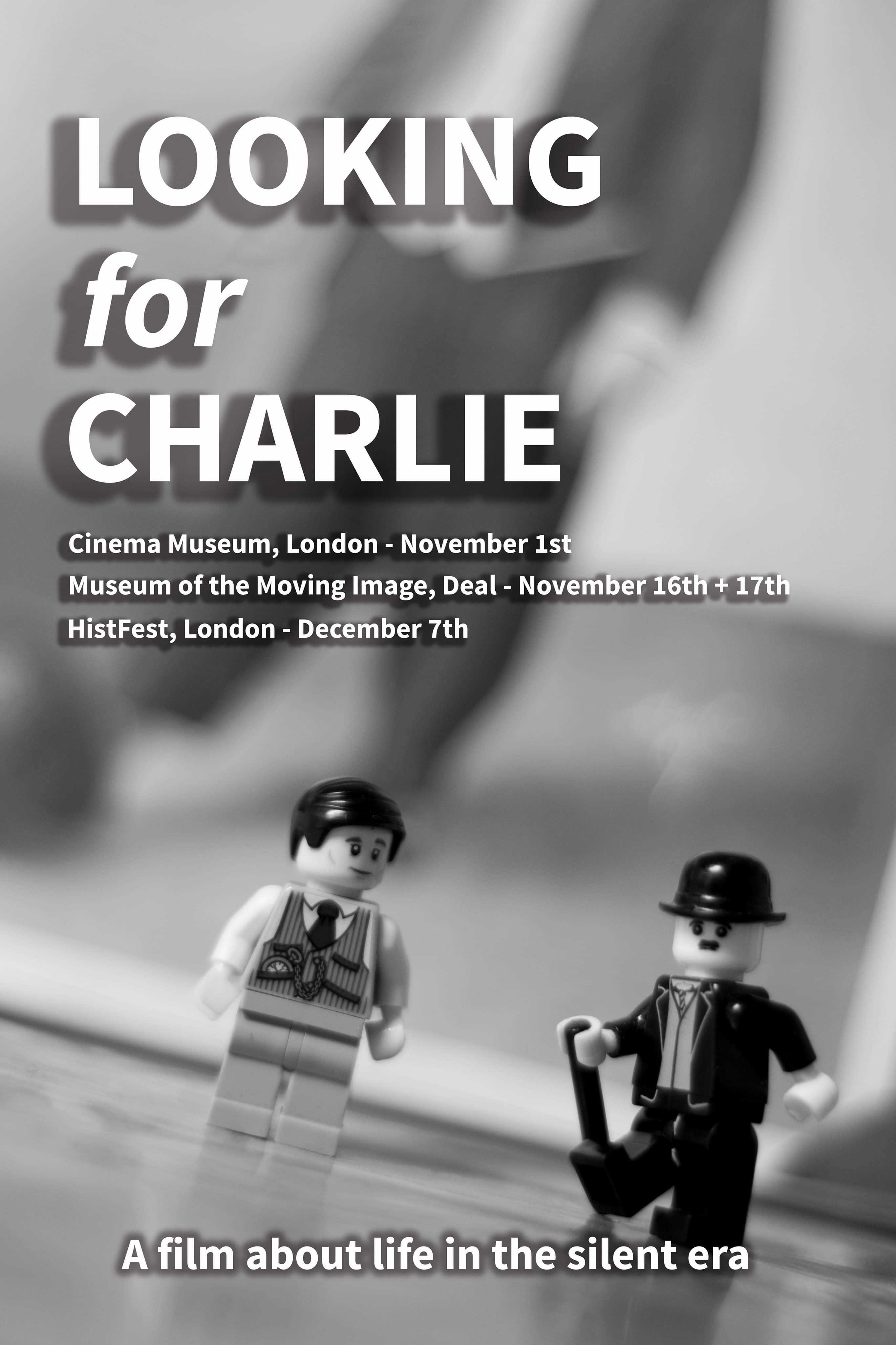 The poster for Looking for Charlie