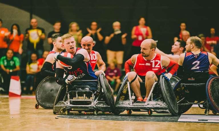 Paralympian and Coventry University graduate Jim Roberts